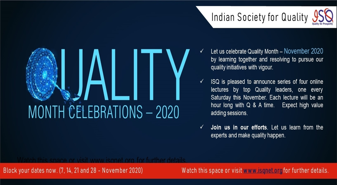 Quality Month Celebrations Banner